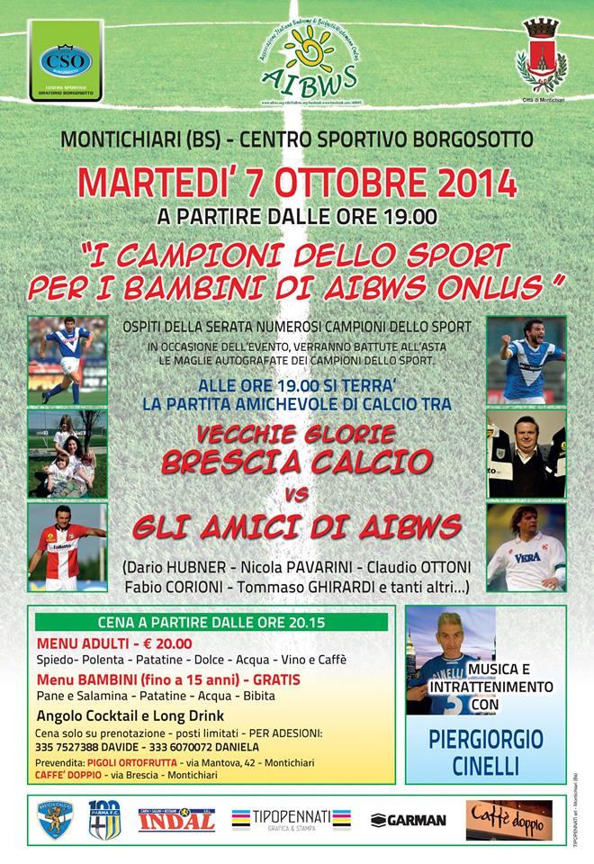 I Campioni dello Sport per i bambini Aibws 2014