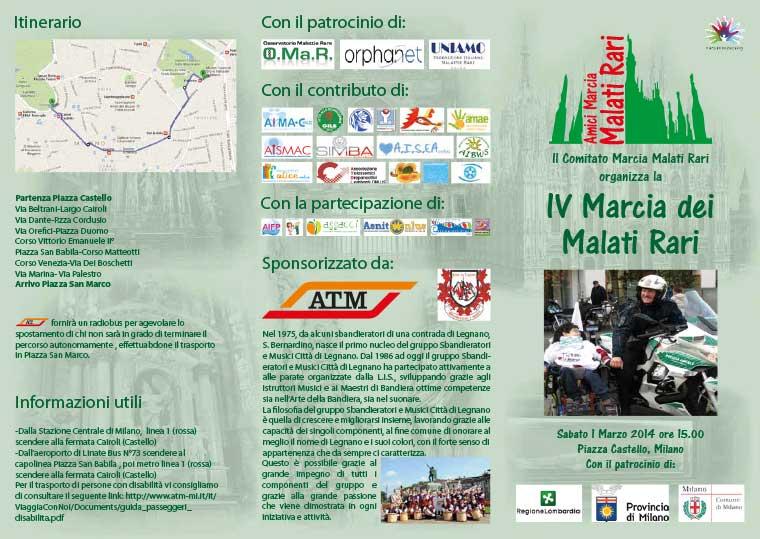 IV Marcia Malati Rari 2014