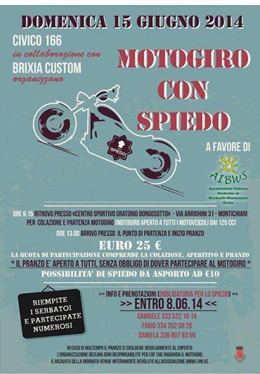 Motogiro con Spiedo, Montichiari, 15 giugno 2014