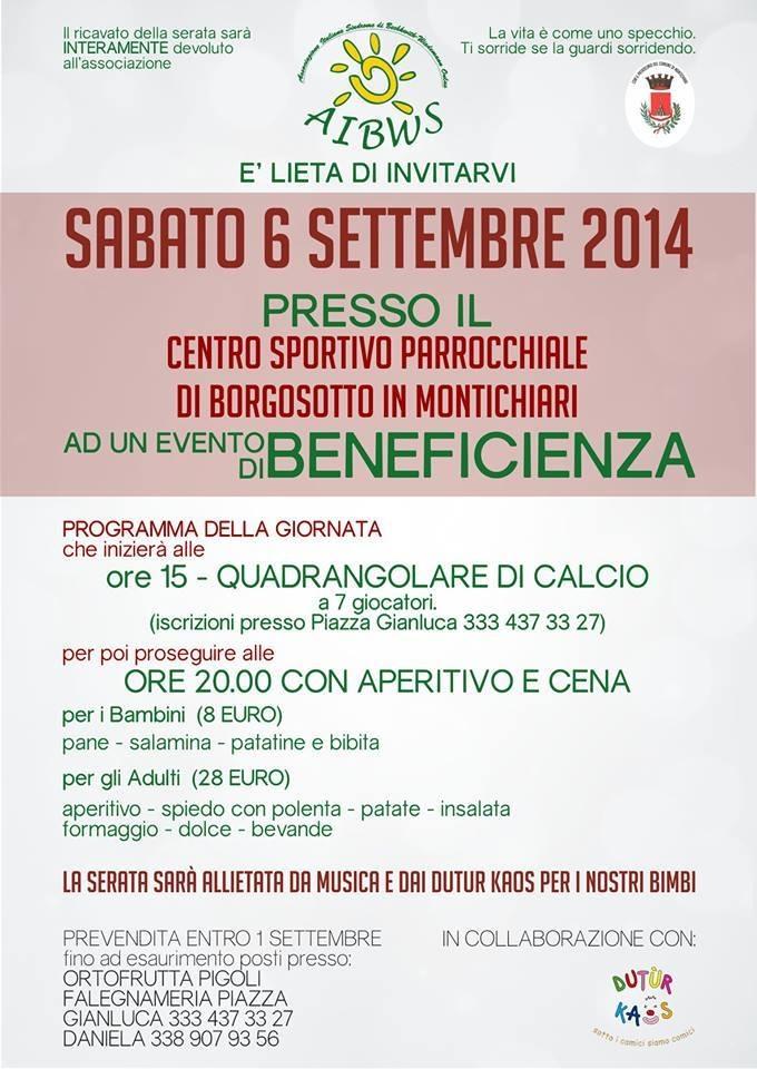 Quadrangolare di calcio 6 settembre 2014, Montichiari