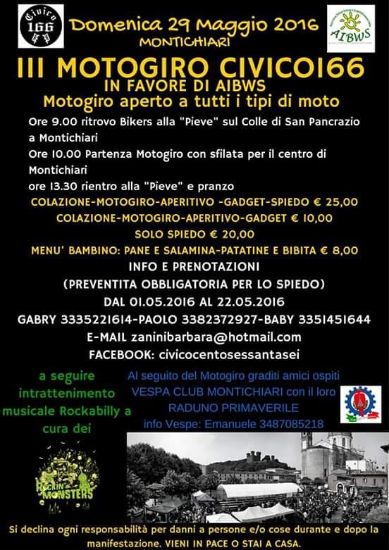 III MOTOGIRO GRAZIE AL CIVICO 166!!