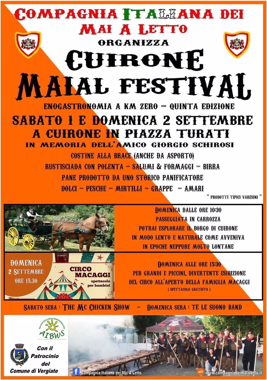 Cuirone Maial Festival