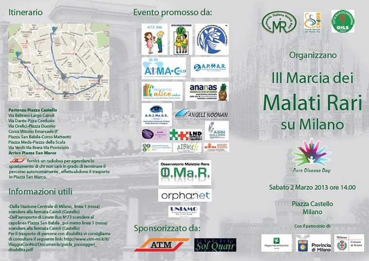III Marcia Malati Rari 1 Marzo 2013 Aibws presente!