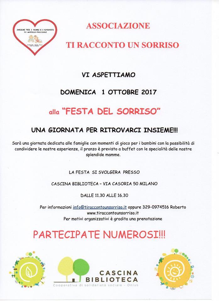 FESTA DEL SORRISO – 1/10/2017